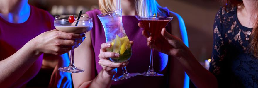 animation bar à cocktails