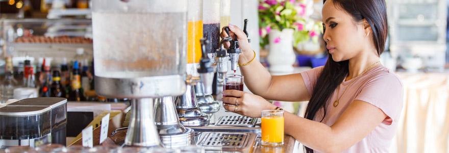 animations en entreprise bar à jus de fruits